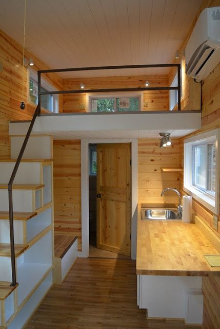 Tiny Home Designs: A Cute And Cozy Tiny House With 240 Sq Ft Of Space