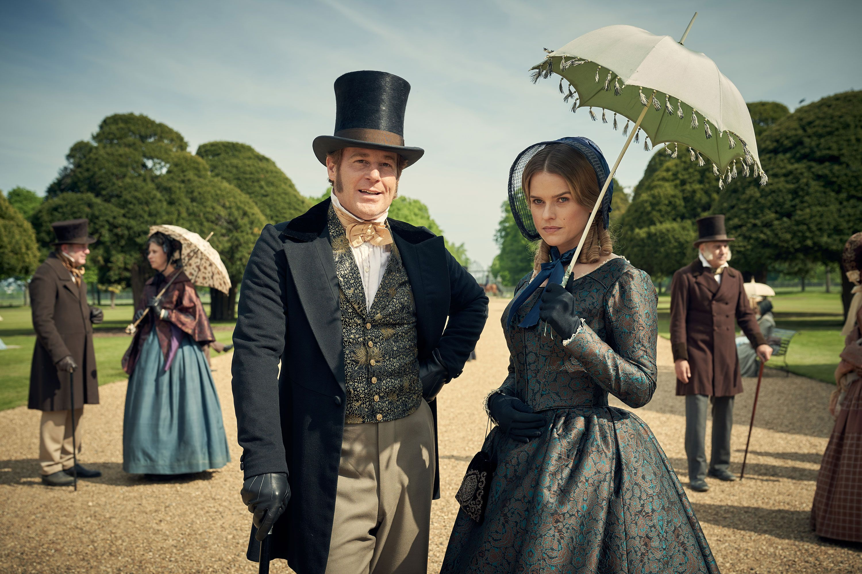 First Look At Downton Abbey Creator Julian Fellows New Series