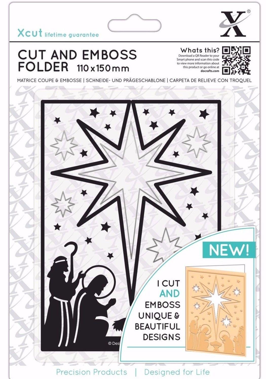 Butterfly Aperture Xcut Cut /& Emboss Scrapbook Paper Craft Folder 110x150mm