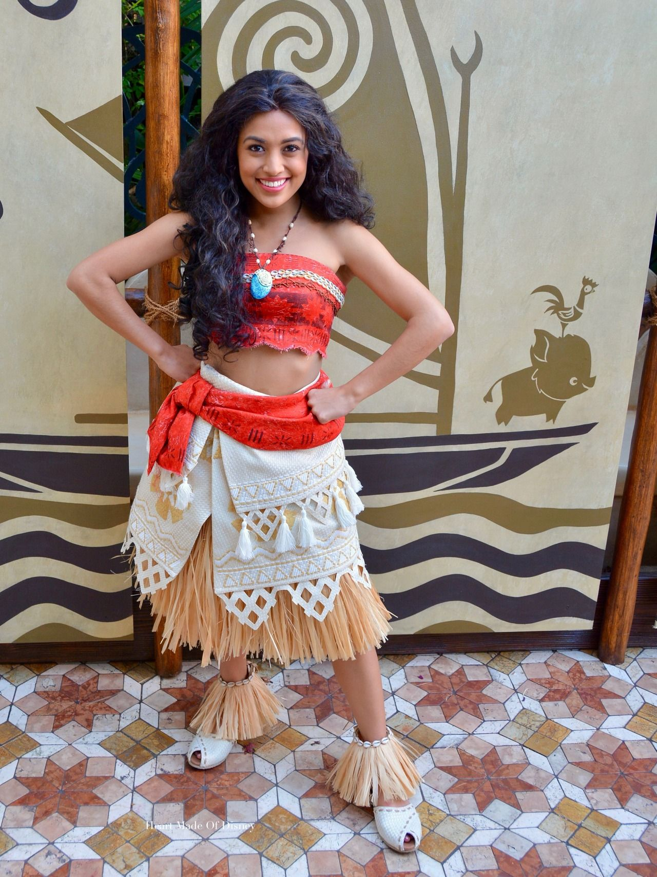 Heart Made Of Disney Moana Has Finally Sailed To Disneyland