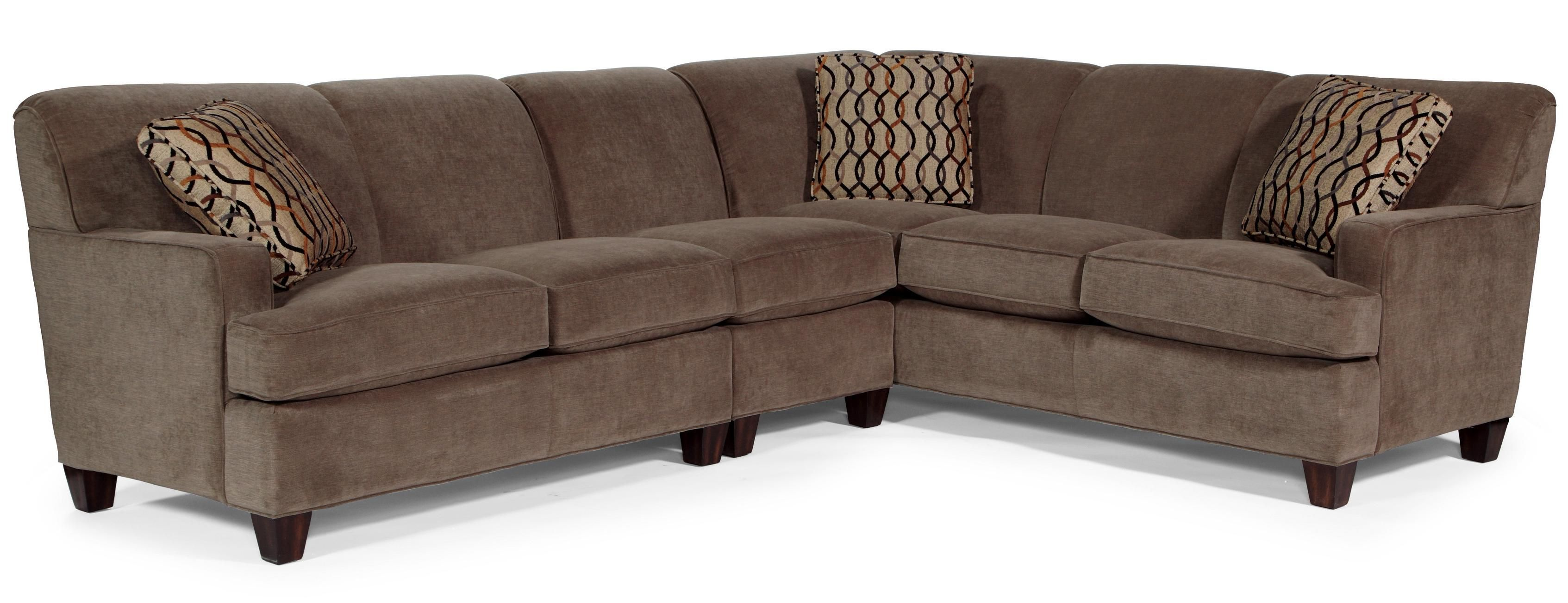 leather sofa nova scotia throw blanket on sectional dempsey 3 pc by flexsteel decorating