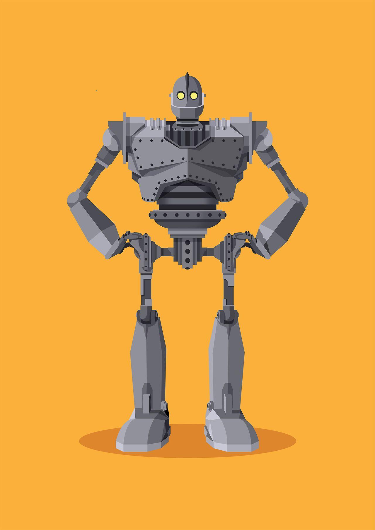 The Iron Giant by Olly Gibbs | Serigrafía | Pinterest | El gigante ...