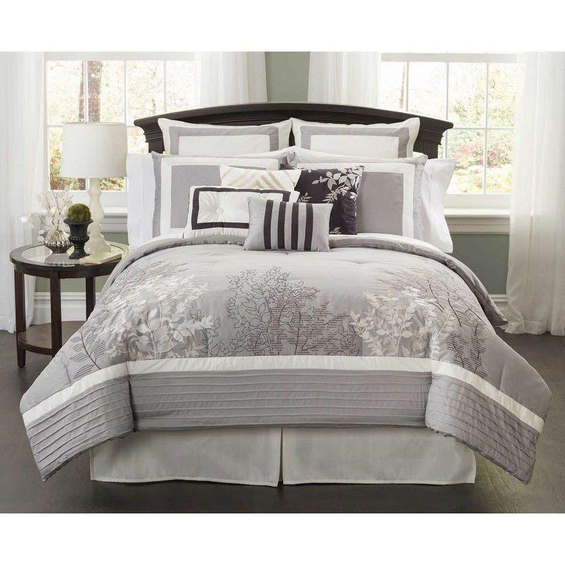 Southern Textiles Qa0068 Elite Parc 10 Pieces King Super Pack Comforter Sets King Comforter
