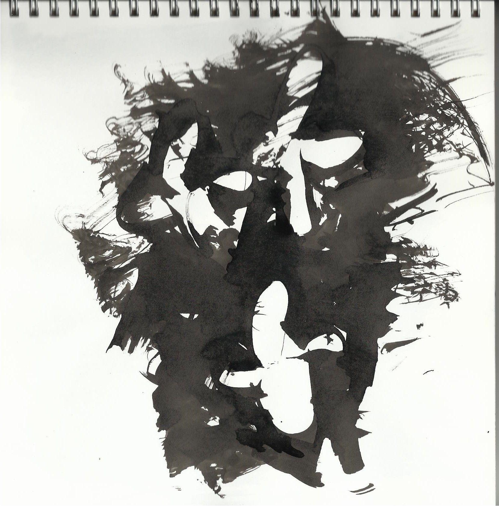 tinta xina, dibuix