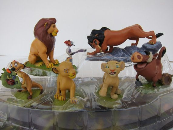 The Lion King Cake Topper Set By Partycraftsupplies