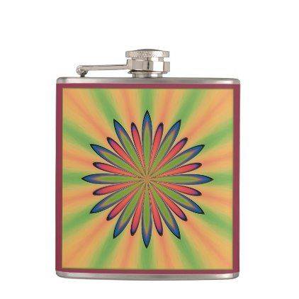Spring Daisy Hip Flask Spring Gifts Beautiful Diy Spring Time New Year Flask Hip Flask Flask Diy