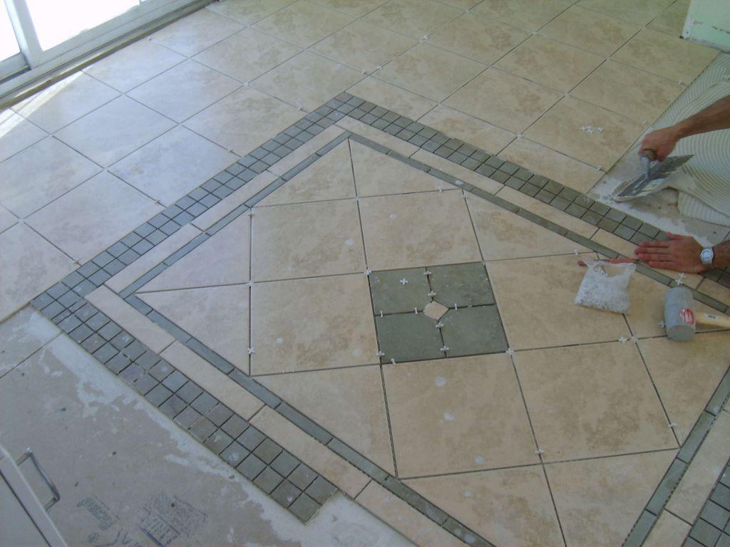 Vinyl Slate Tile Flooring Design Patterns Floors Pinterest