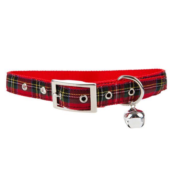 Jingle Bells Just For Your Pet Top Paw Pet Holiday Tartan Plaid Dog Collar Petsmart 3 17 Plaid Dog Collars Cute Puppies And Kittens Petsmart