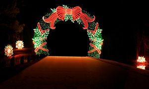 its christmas at callaway featuring fantasy in lights at callaway resort gardens