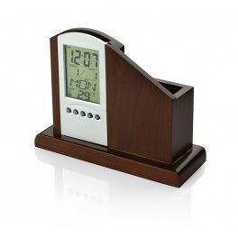 Organizer Drewniany Prezent Na Urodziny Alarm Clock Digital Alarm Clock Clock