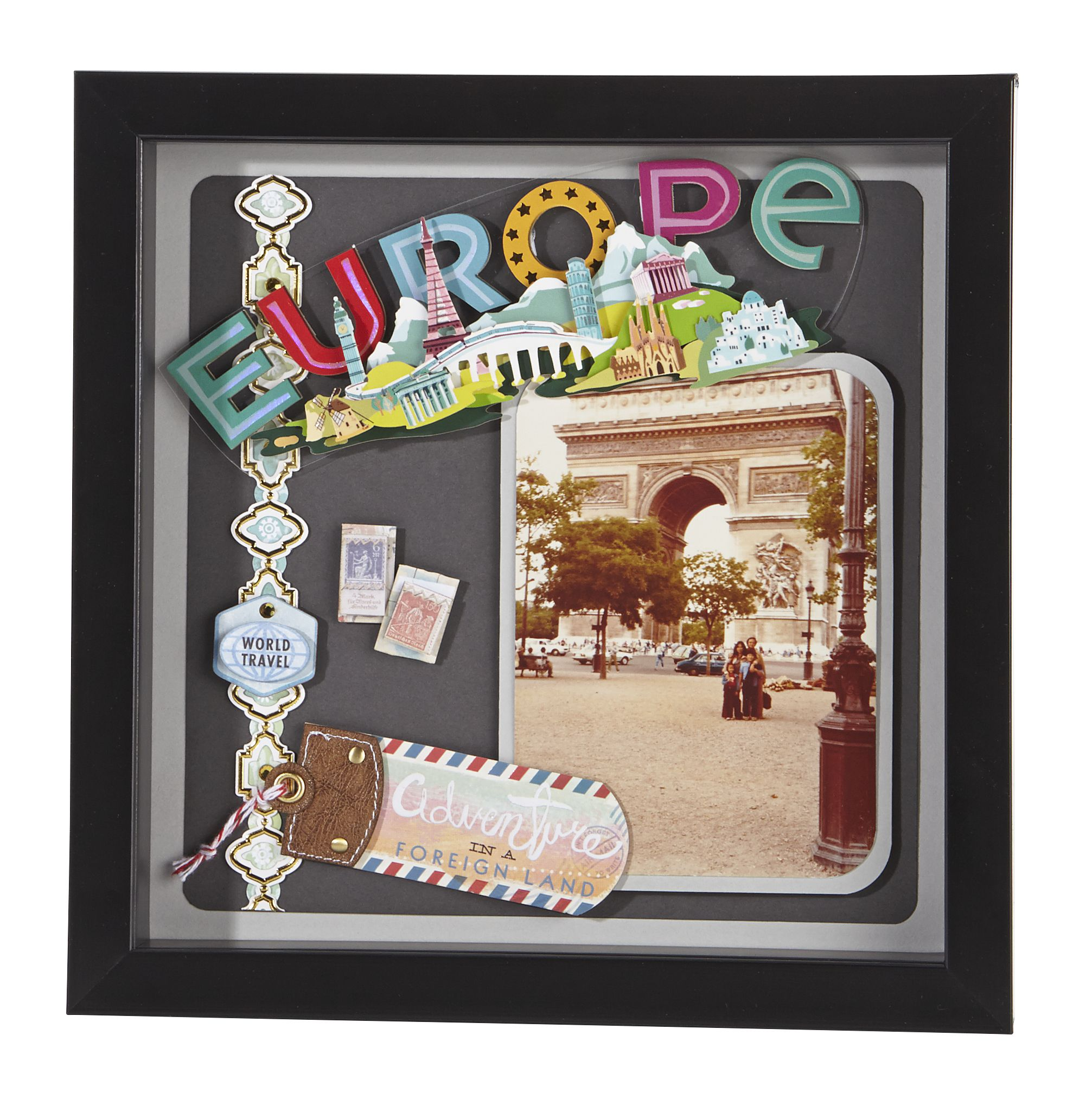 Jolee\'s Boutique® Europe Shadow Box #papercrafting #craft | DIY ...