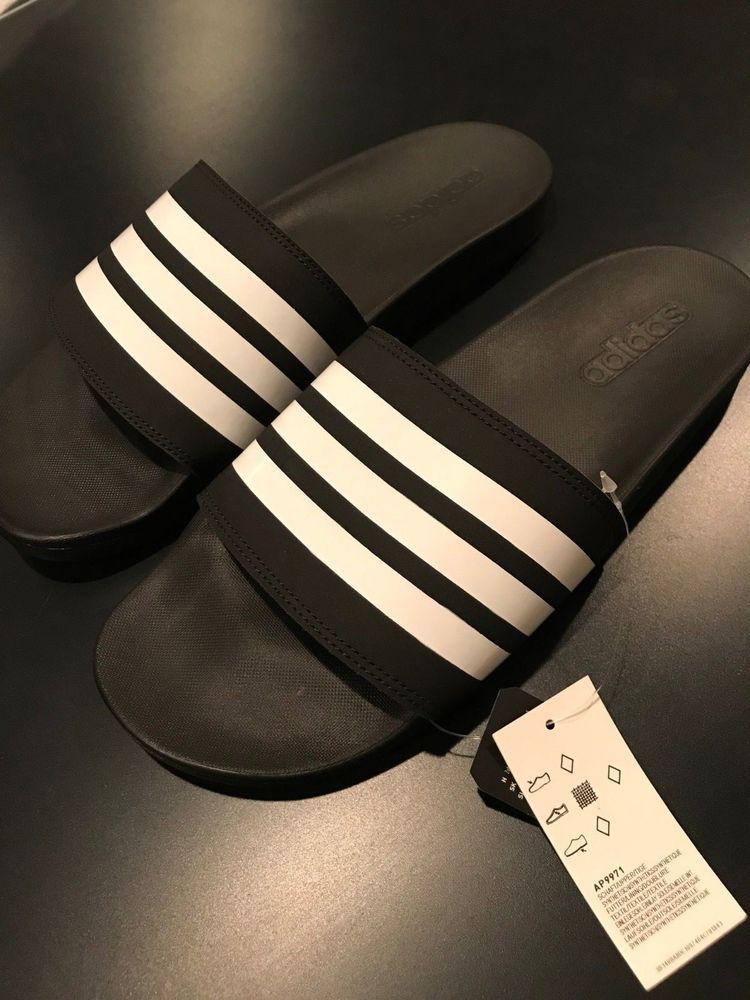 Adidas Adilette cloudfoam slides mens adidas slides size mens 7 8 9 10  sliders  fashion 8093bfbae