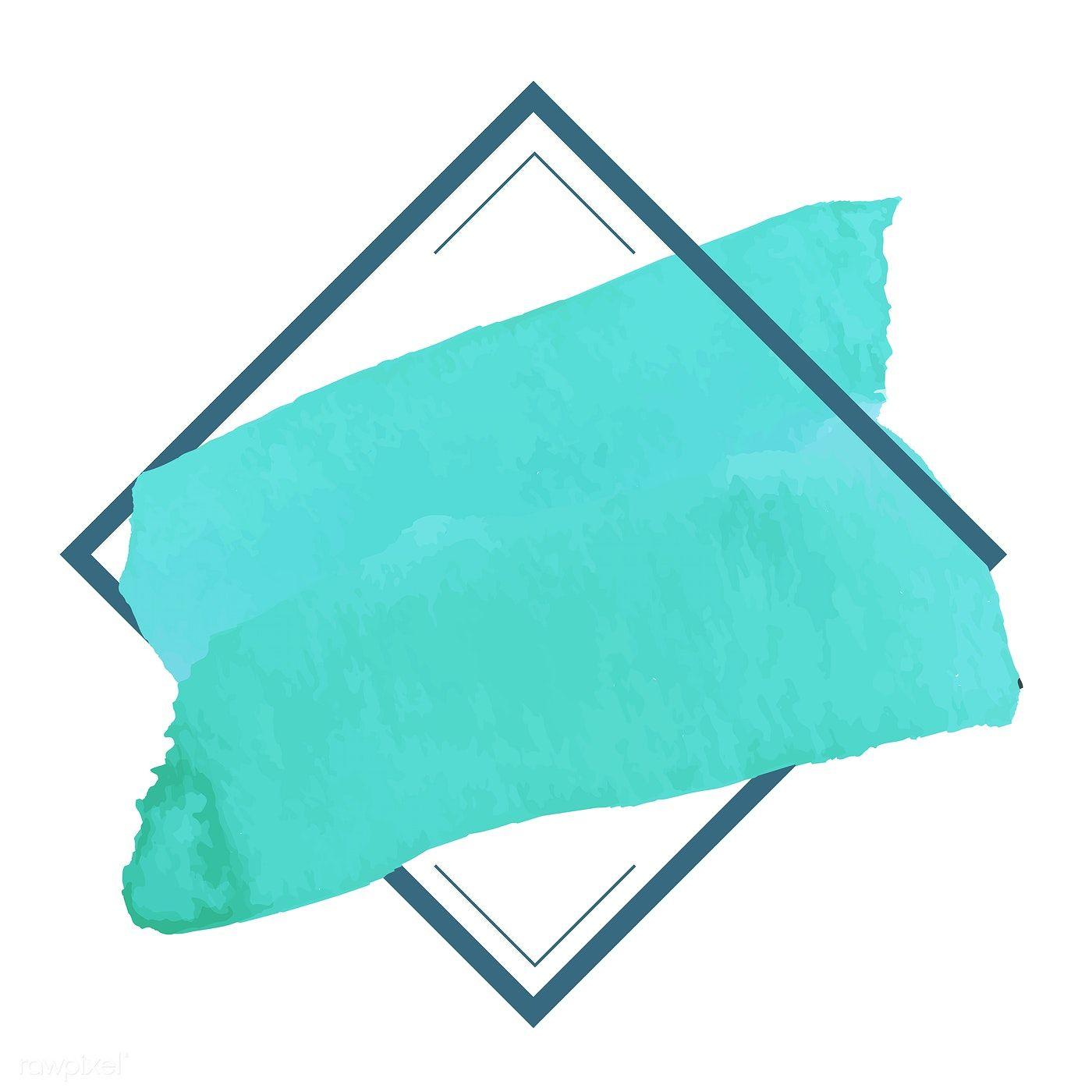 Download Premium Vector Of Green Watercolor Banner Design Vector 512759 Banner Design Powerpoint Background Design Green Watercolor