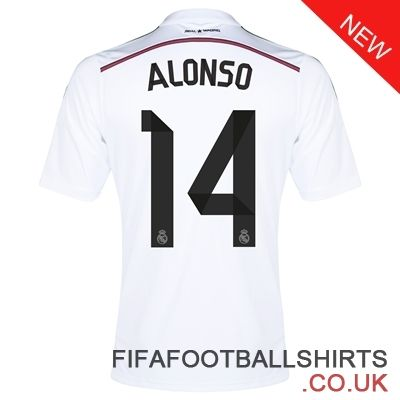 No.14 Real Madrid Away Shirt 2014/15 Online For Sale. www.fifafootballshirts.co.uk, our shop are in big discount.