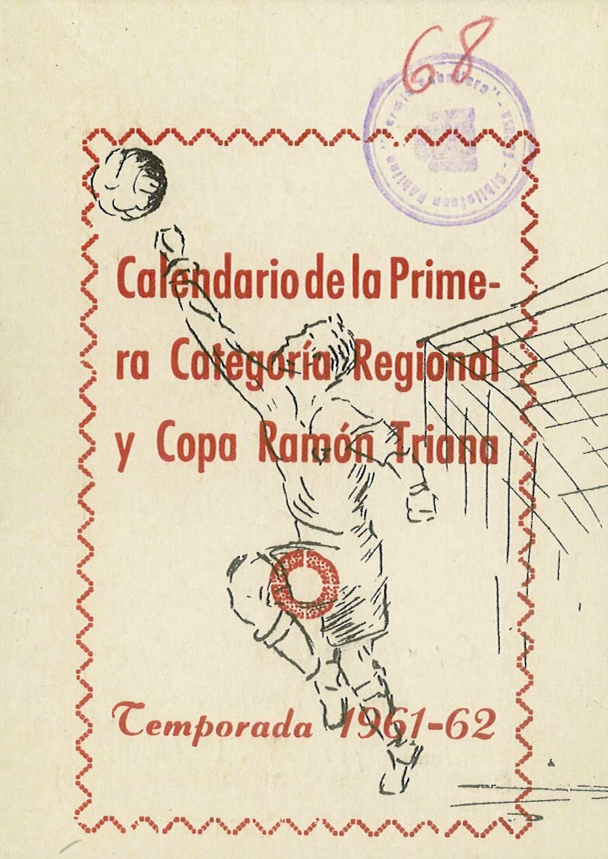 Calendario Del 1961.Calendario De Futbol De La 1ª Categoria Regional Para La