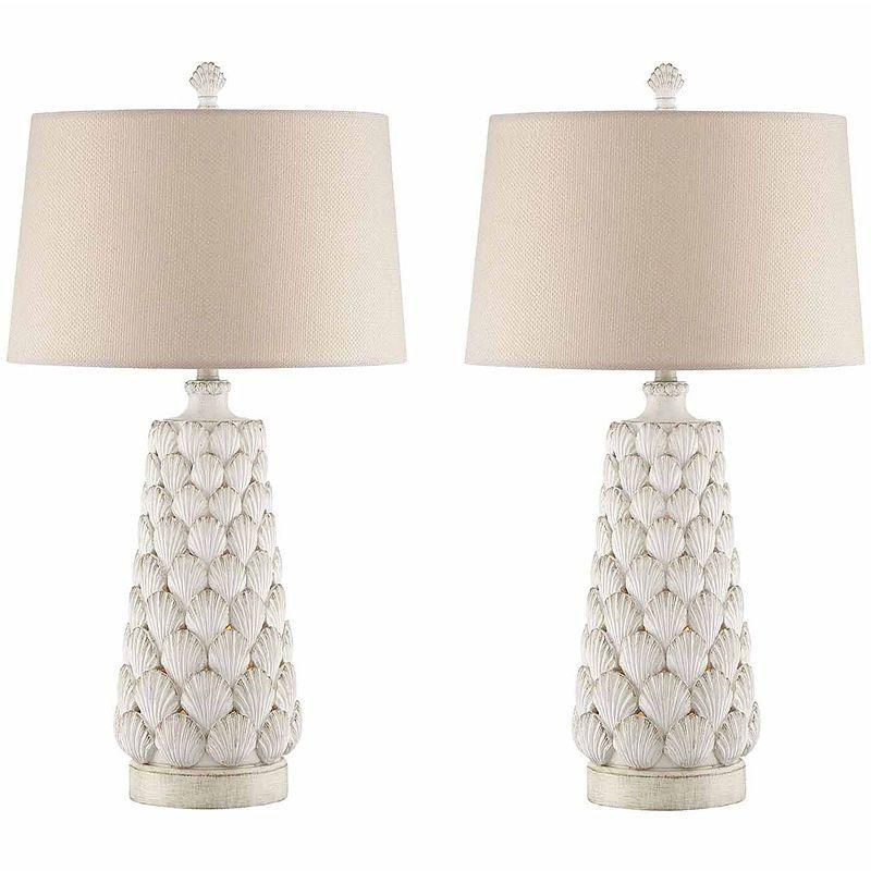 Seahaven Seashell Table Lamp Set Lamp Sets Cool Floor Lamps