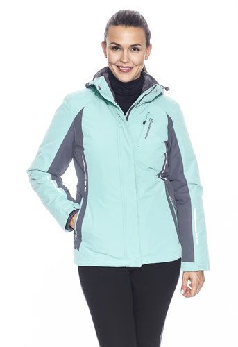 9458a5961b0 The Women s Plus Everglade 3-in-1 Systems Jacket will keep you warm at  every turn while you re on the slopes.