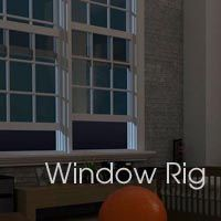 Free window-making C4D rig from c4dtools.net ▪ Window Rig. Awesome.