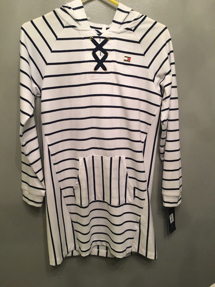 10edb5ad0611 Girls Size 12 Tommy Hilfiger Striped Sweater Dress  fashion  clothing   shoes  accessories