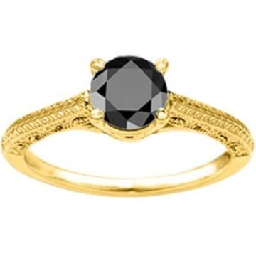 https://ariani-shop.com/black-diamond-vintage-filigree-engraved-solitaire-set-with-black-diamond-set-in-10k-gold-033-ct-twt Black Diamond Vintage Filigree Engraved Solitaire set with Black Diamond set in 10K Gold (0.33 Ct Twt)