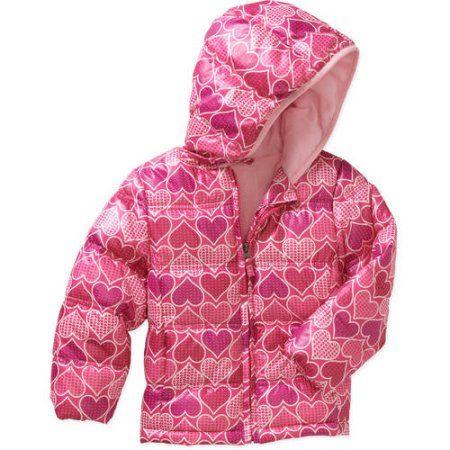 c39d3d00b Healthtex Baby Toddler Girl Bubble Puffer Jacket