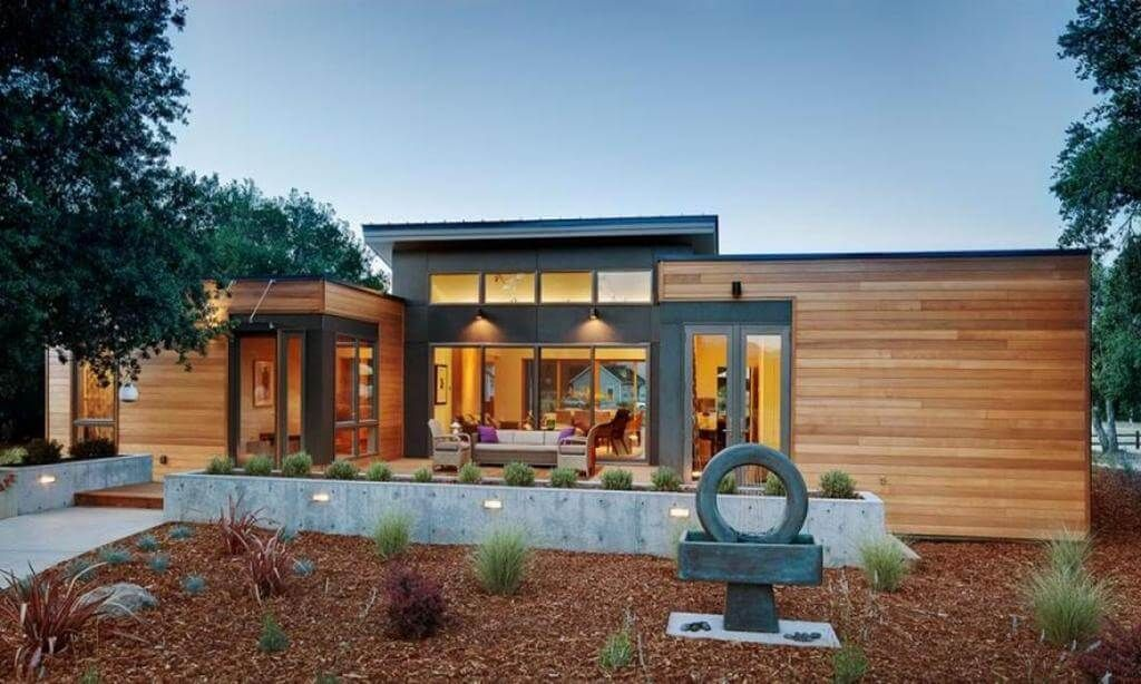 Some Amazing Underground House Design That You Can Also Have Modern Prefab Homes Prefab Homes Small Prefab Homes