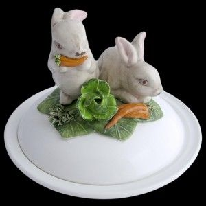 White Rabbit - dish deep plate