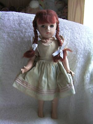 """Margaret o'brien vintage #composition 14"""" #madame #alexander doll in orig outfit,  View more on the LINK: http://www.zeppy.io/product/gb/2/142195165572/"""