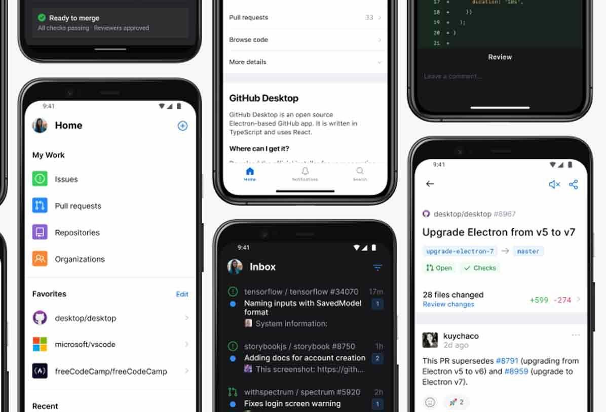 Github Mobile Pour Android Et Ios Est Desormais Disponible En 2020 Android Ios Application Mobile