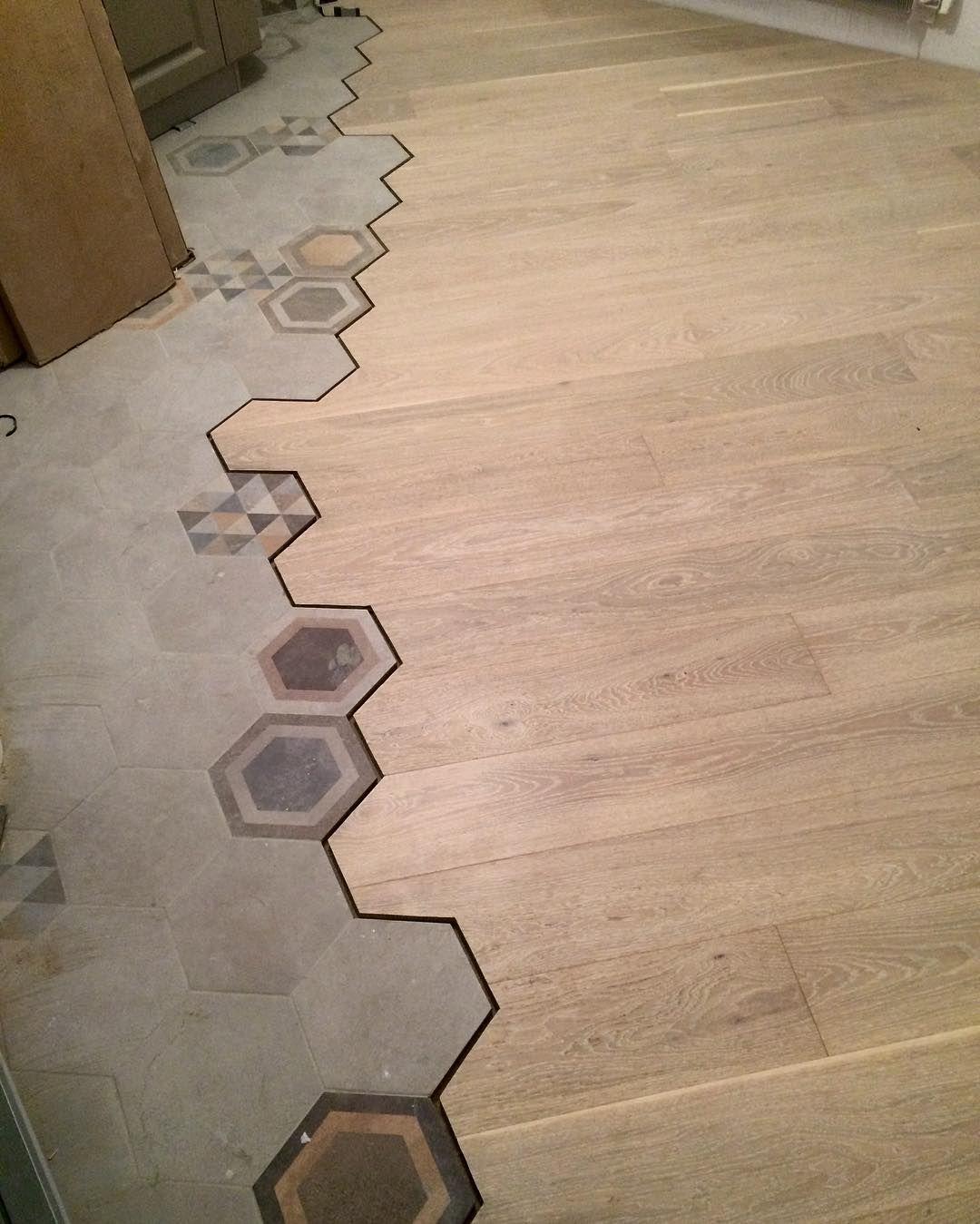 Hexagon Tiles Bathroom Floor Kitchen Creative Backsplash