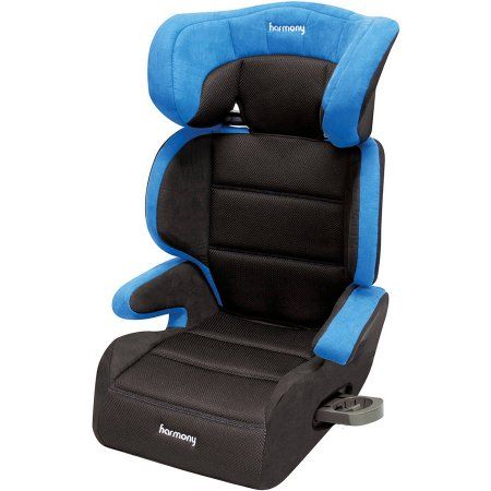 Harmony Dreamtime Deluxe Comfort Booster Car Seat, Blue | Car seats ...