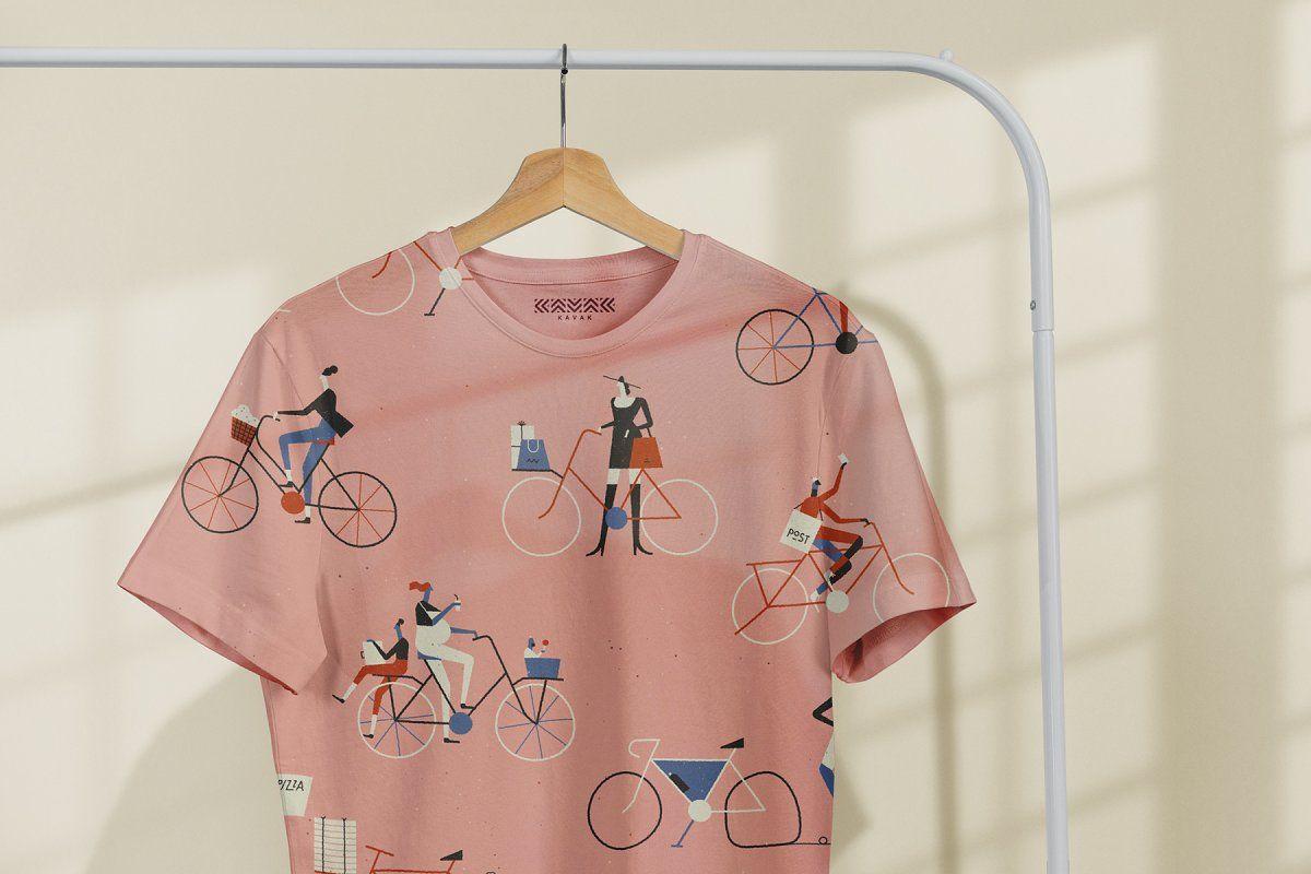 Download T Shirt Mock Up On Hanger Tshirt Mockup Graphic Design Portfolio Print Shirts