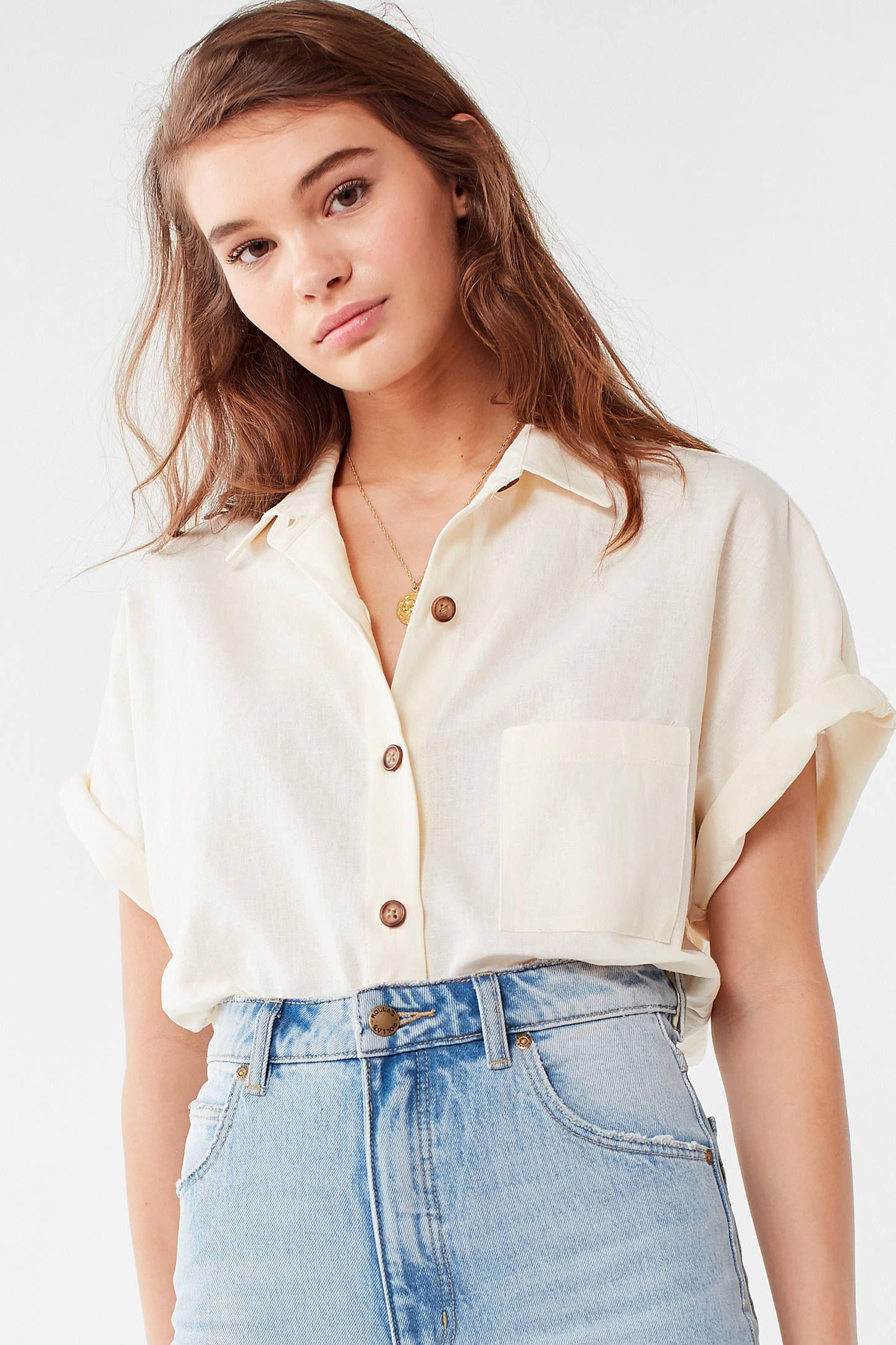 05471362 Urban Renewal Remnants Linen Button-Down Shirt in 2019 | Wishing ...