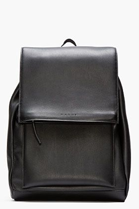 3ea5f2f863 MARNI Black Leather Backpack. Find them on eBay