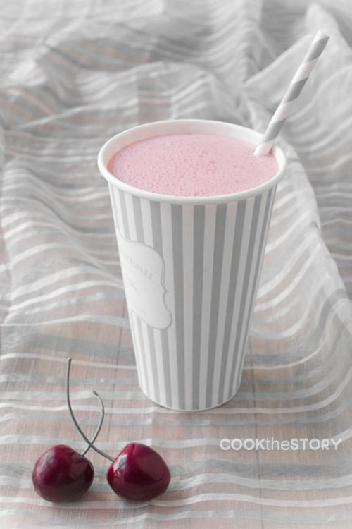 Photo of Coffee Cherry Smoothie