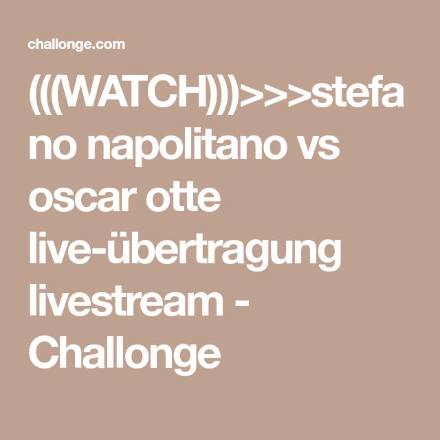 Oscar Live übertragung