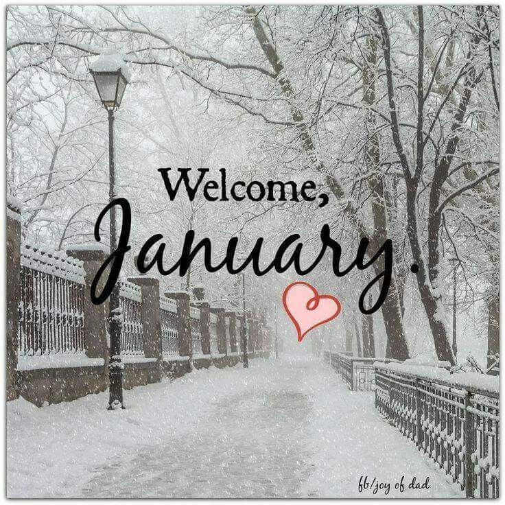 Hello january image by Mary Edwards on wintertime