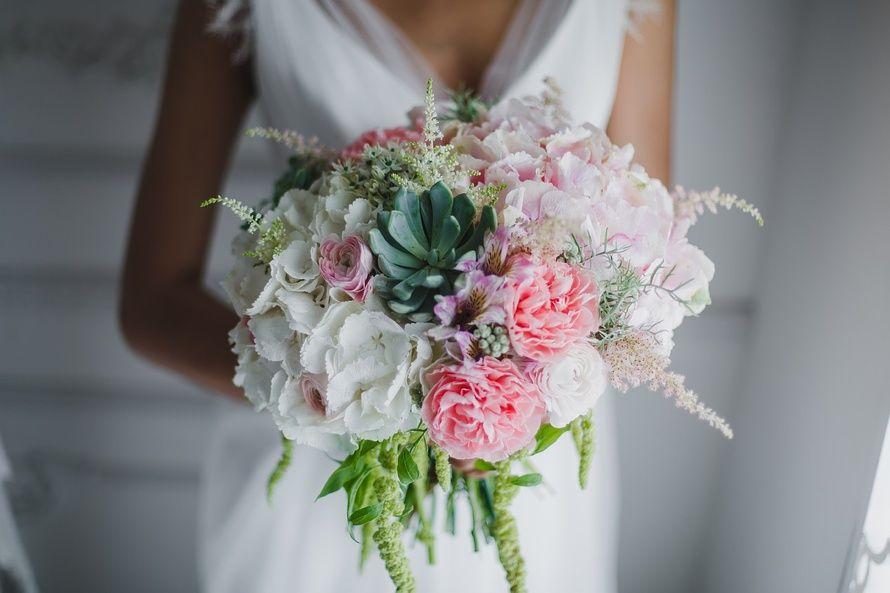 Днем, цветы для невесты свадебные букета