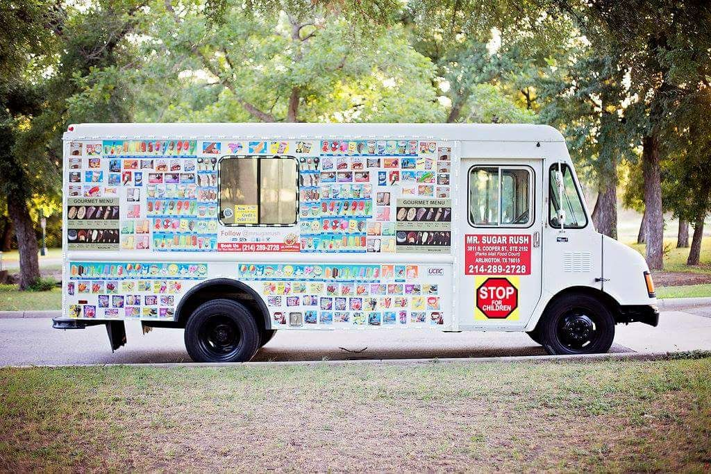 Fort Worth Ice Cream Food Truck With Images Sugar Rush Ice