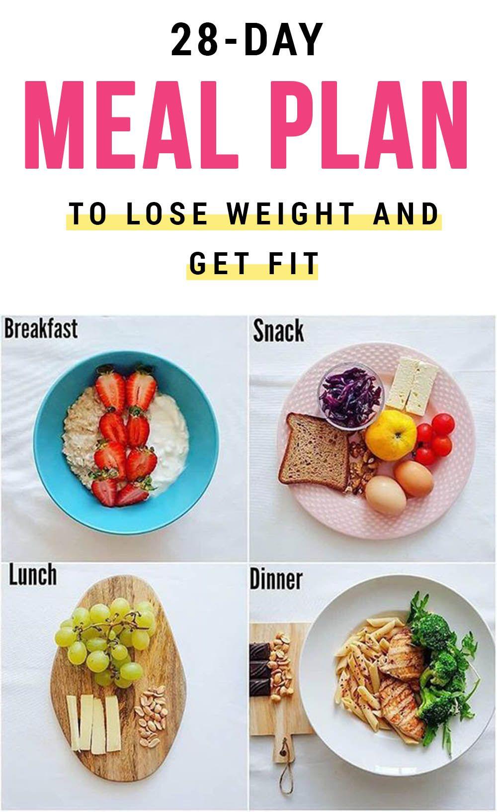 28-Day FAT BURNING Meal Plan