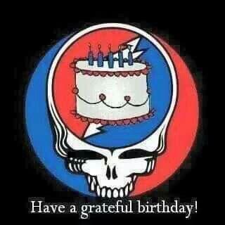 Happy BIRTHDAY! | Dead | Grateful Dead, Grateful dead poster