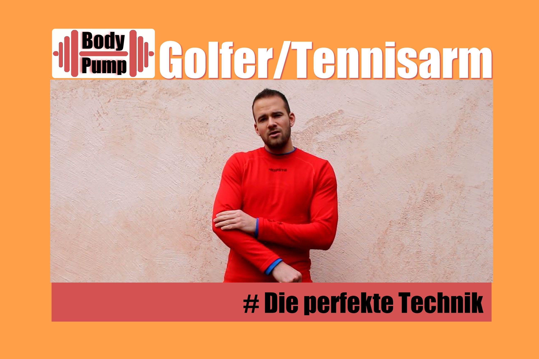 Sehnenscheidenentzündung - Golferarm / Tennisarm - Dehnübung / Behandlun...
