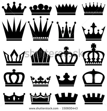 black and white king crown pinterest kings crown crown and white image. Black Bedroom Furniture Sets. Home Design Ideas