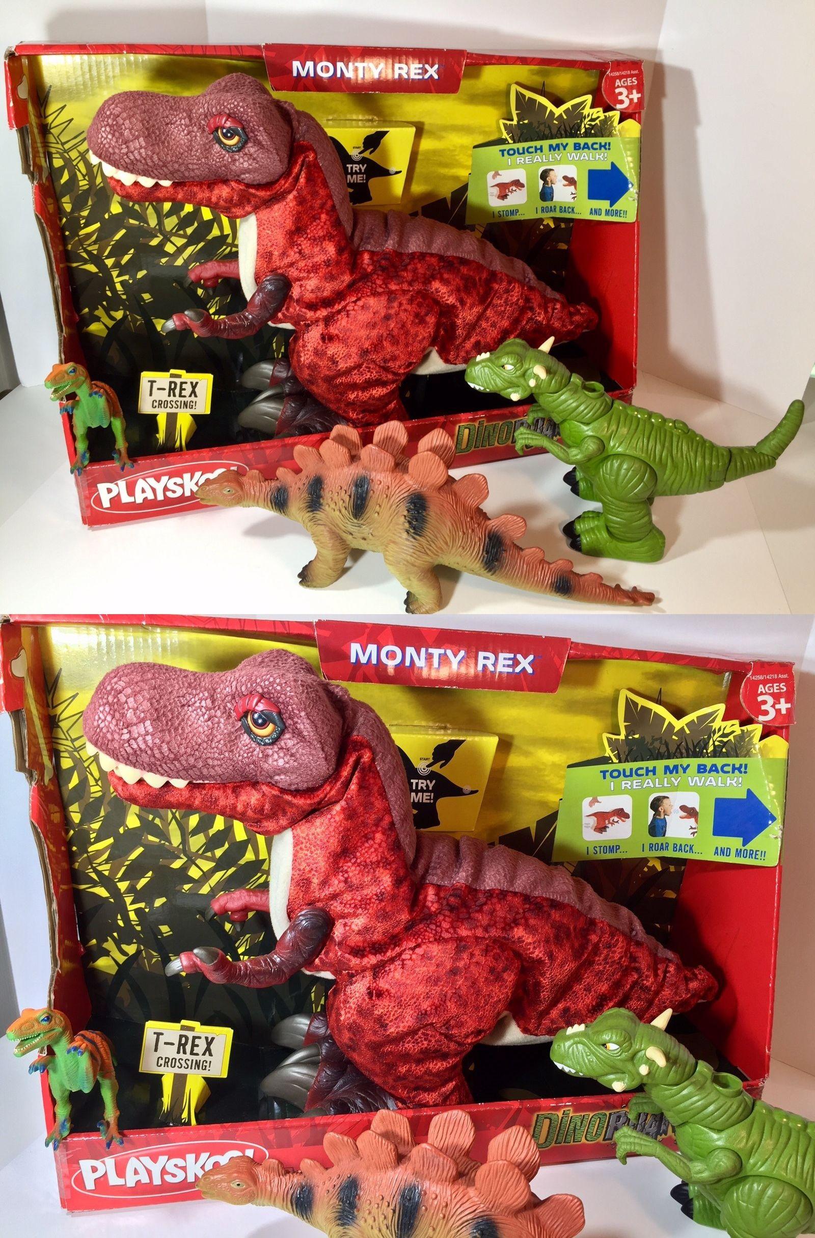 Juric Park Junior Playskool Tracking The T Rex Playset Inc Tyrannosaurus Dino Capture Vehicle Human Figure Exclusive