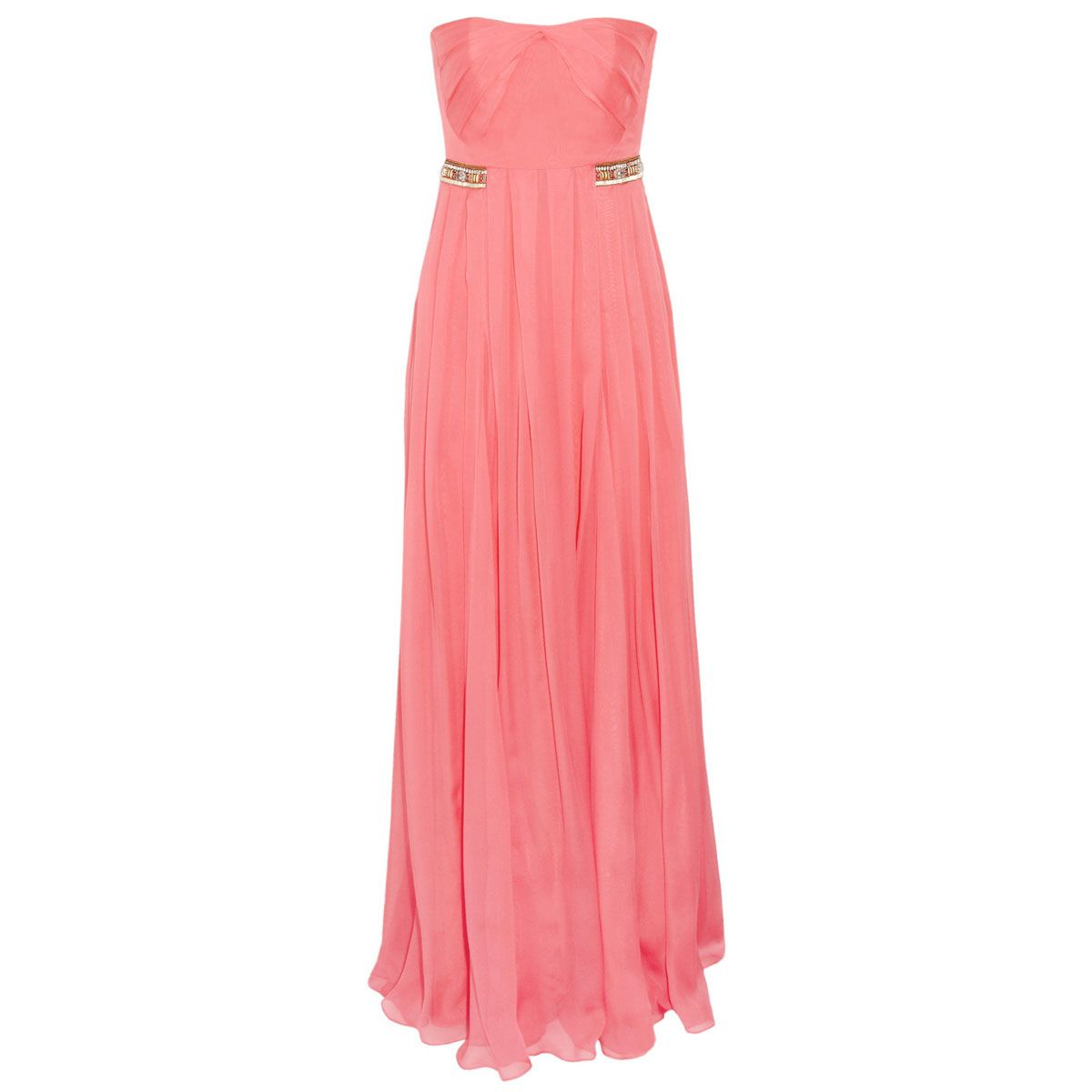 e244bb1d1c 45 Stunning Nontraditional Wedding Dresses - The Cut Matthew Williamson  embellished silk-chiffon gown Estilo