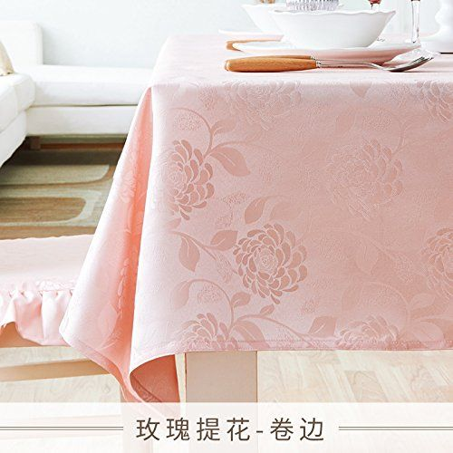 WFLJL European Style Tablecloth room decoration Cotton Dining Table ...