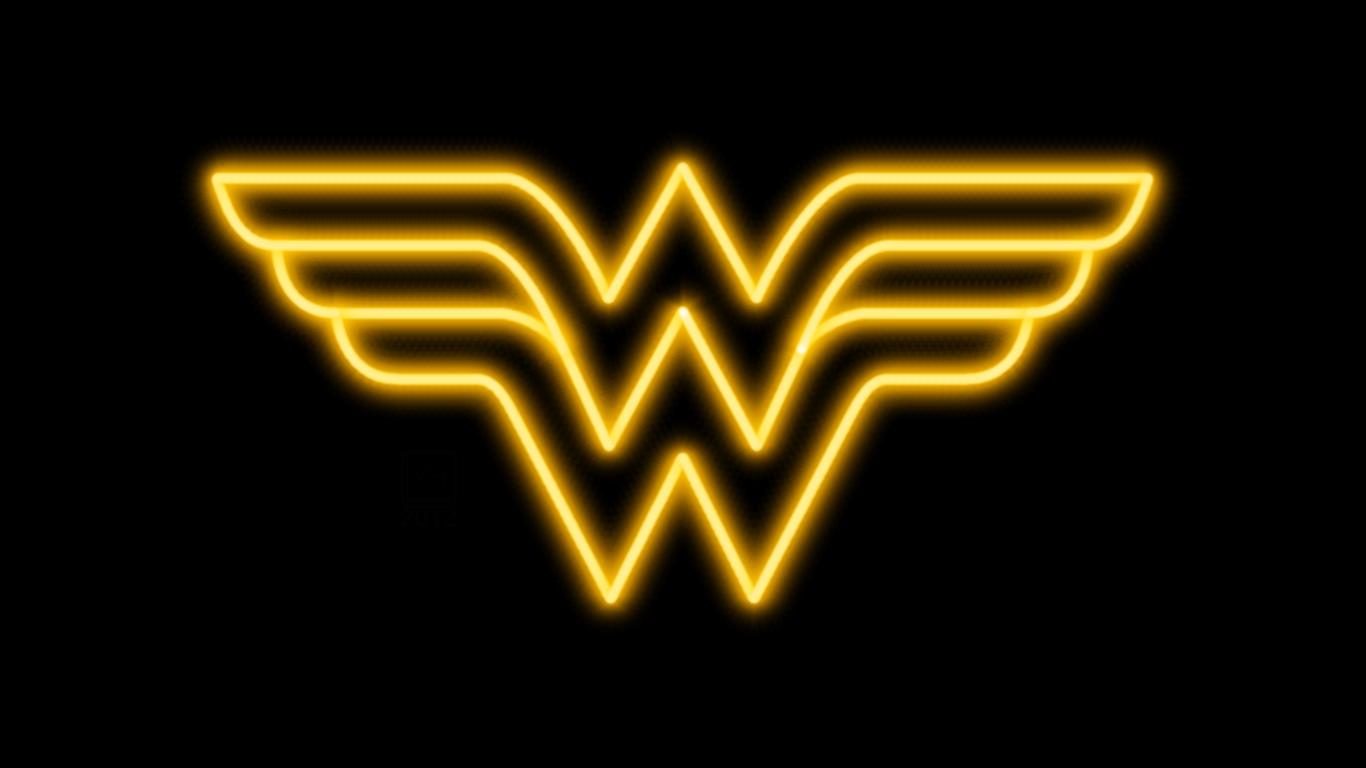 Wonder Woman Neon Symbol Wp By Morganrlewis On Deviantart Wonder Woman Art Neon Symbol Wonder Woman