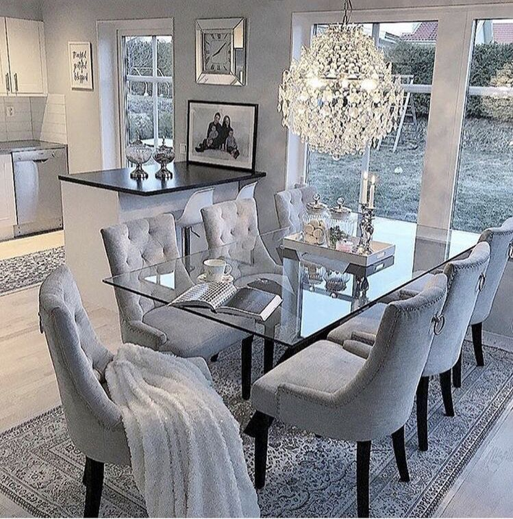 Home Interior Cocina In 2020 Luxury Dining Room Elegant Dining Room Dinning Room Decor