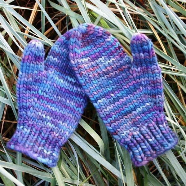 Kids Mittens Knitting Pattern Free Knit1 Guantes Mitones