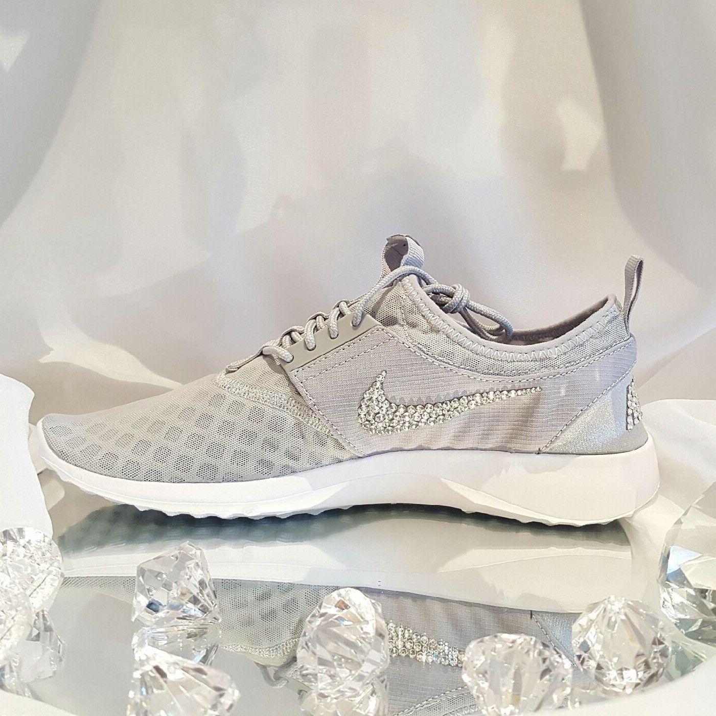 6df2a7c954a7 Custom Bling Womens Nike Juvenate Grey